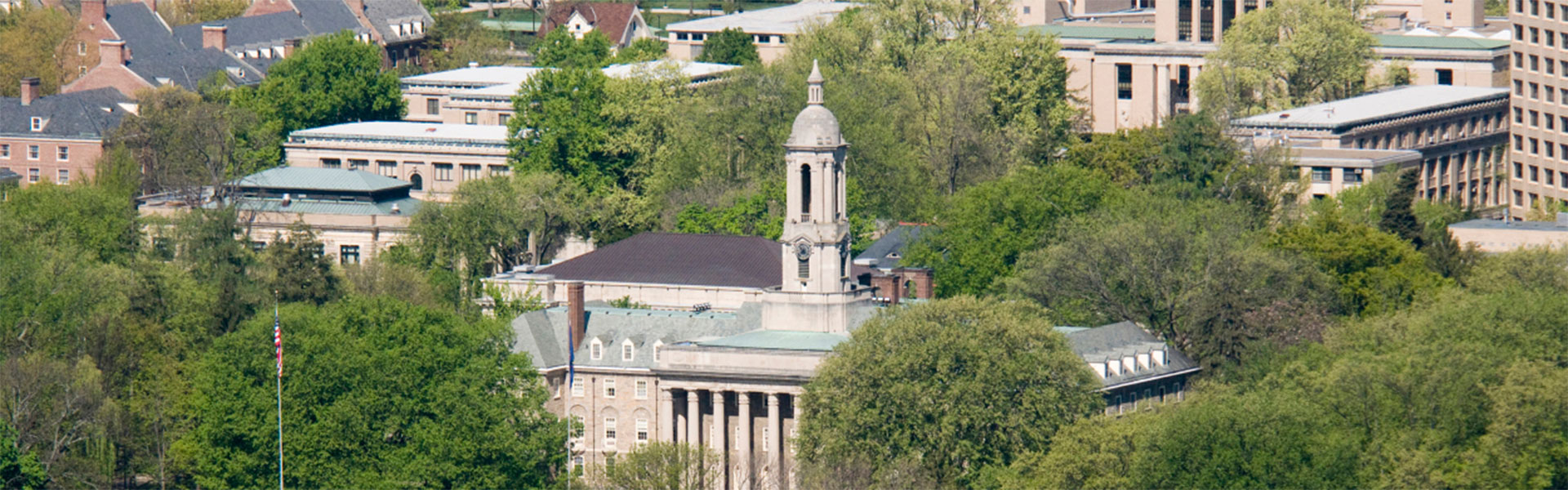 Old Main Aerial View