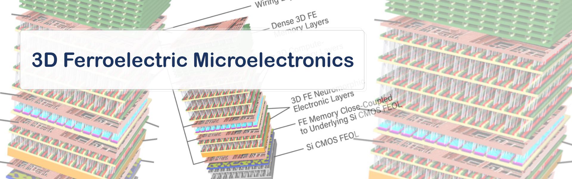 3D Ferroelectric Microelectronics