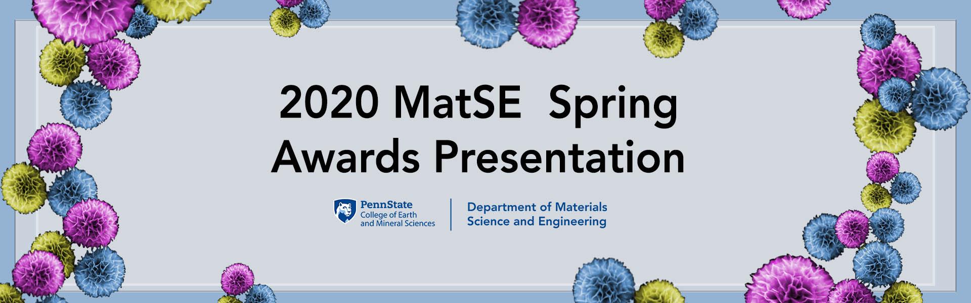 2020 MatSE Awards Presentation