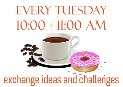 Every Tuesday 10:00 - 11:00 AM