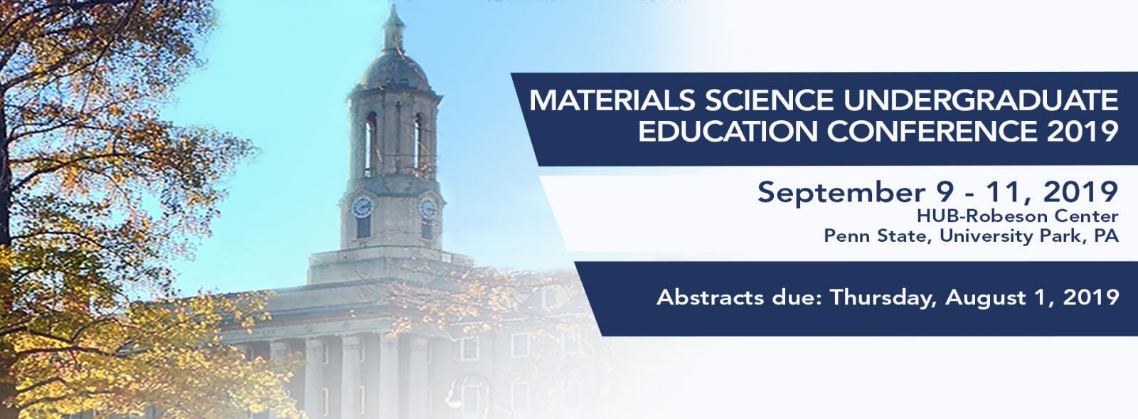 Materials Science Undergraduate Education Conference