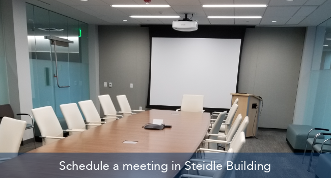 Executive Conference Room in Steidle Building