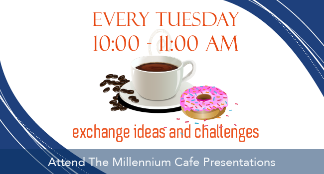 Millennium Cafe Advertisment