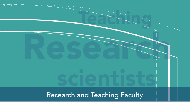 Research and teaching Faculty