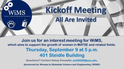 Women in Materials Science and Engineering (WiMS)