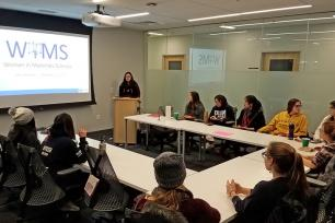 Women in Materials Science club meeting