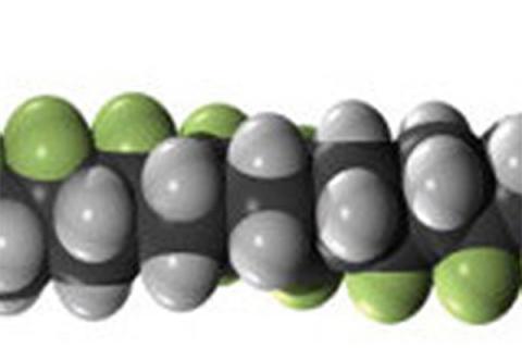 poly(vinylidene fluoride-co-trifluoroethylene) molecule