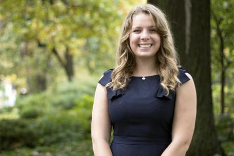 Hannah Pohlmann, Undergrad, Materials Science and Engineering
