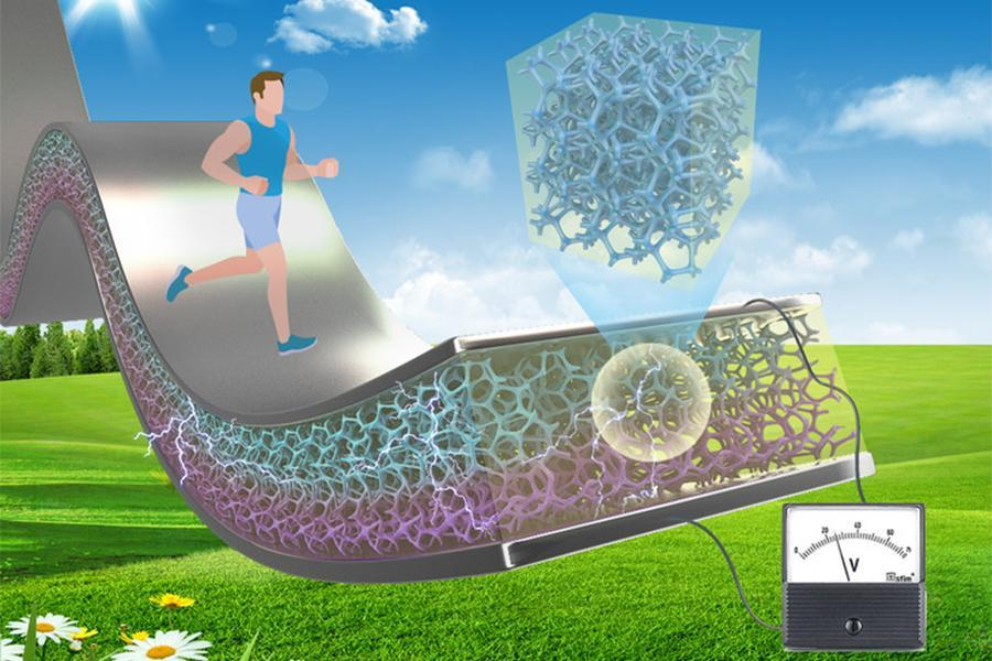 A 10-fold increase in the ability to harvest mechanical and thermal energy over standard piezoelectric composites may be possibl